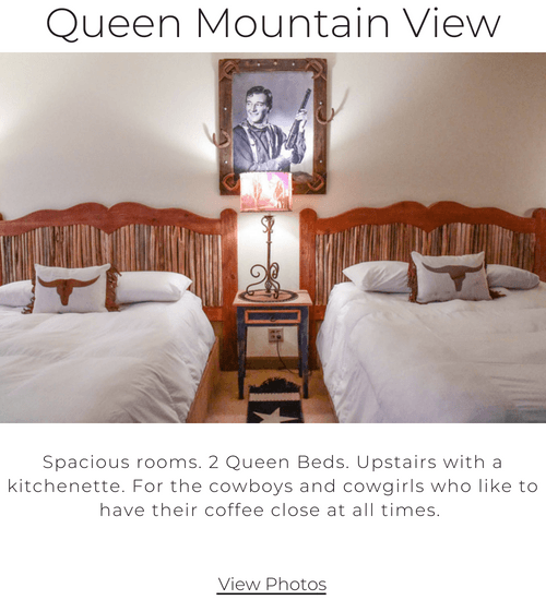 Queen Mountain View Room