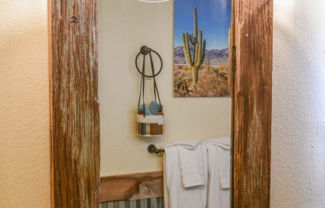 Bathroom at the Tumbleweed Hotel